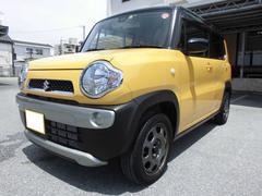 沖縄の中古車 スズキ ハスラー 車両価格 85万円 リ済込 平成28年 4.4万K アクティブイエロー ブラック2トーンルーフ
