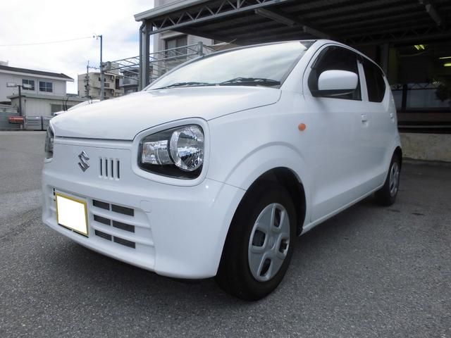 沖縄の中古車 スズキ アルト 車両価格 39万円 リ済込 2015(平成27)年 7.9万km スペリアホワイト