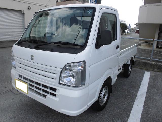 沖縄県の中古車ならキャリイトラック KCエアコン・パワステ 4DW MT