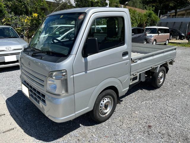沖縄県の中古車ならキャリイトラック KCエアコン・パワステ ETC車載器付き