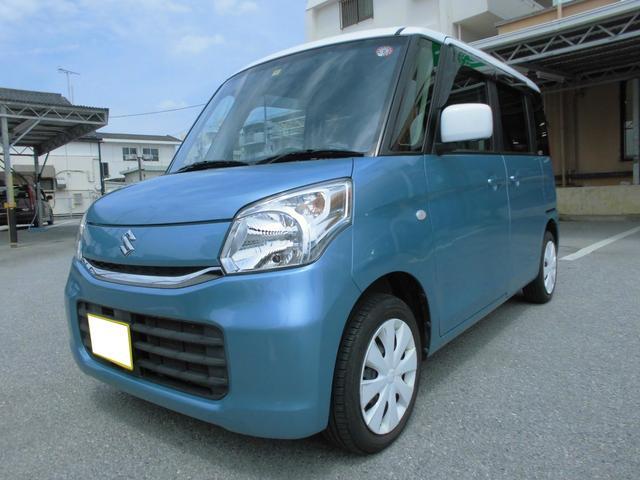 沖縄県那覇市の中古車ならスペーシア X 両側パワースライドドア デュアルカメラブレーキサポート