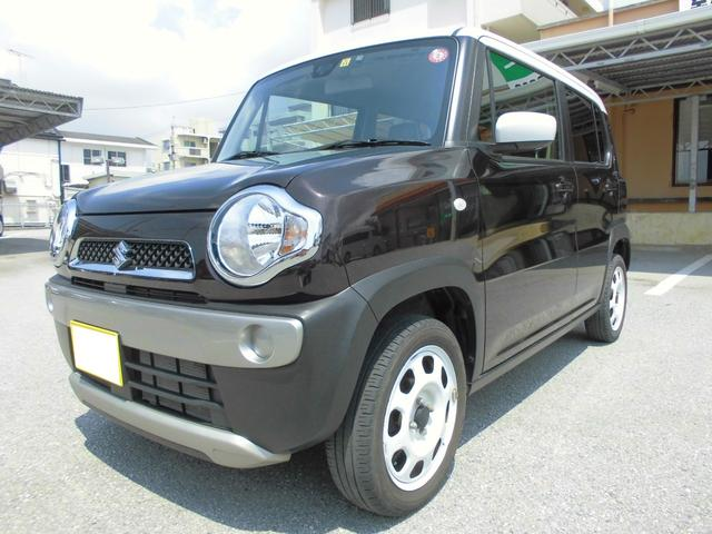 沖縄県那覇市の中古車ならハスラー G SDナビ・ETC付き レーダーブレーキサポート装備