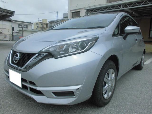 沖縄県の中古車ならノート X エマージェンシーブレーキ SDカーナビ・ETC付き