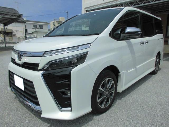 沖縄県の中古車ならヴォクシー ZS煌 ToyotaSafetySenseC ナビ・ETC付