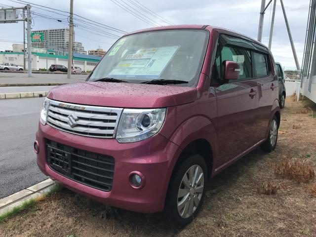 沖縄の中古車 スズキ MRワゴンWit 車両価格 99.8万円 リ済別 平成27年 3.8万km ピンクM