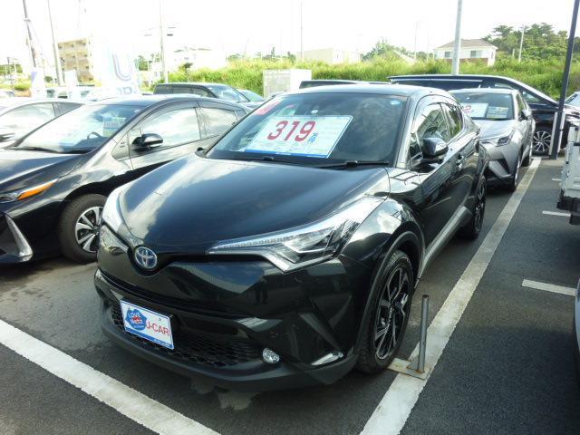 沖縄の中古車 トヨタ C-HR 車両価格 299.2万円 リ済別 2018(平成30)年 796km ブラック