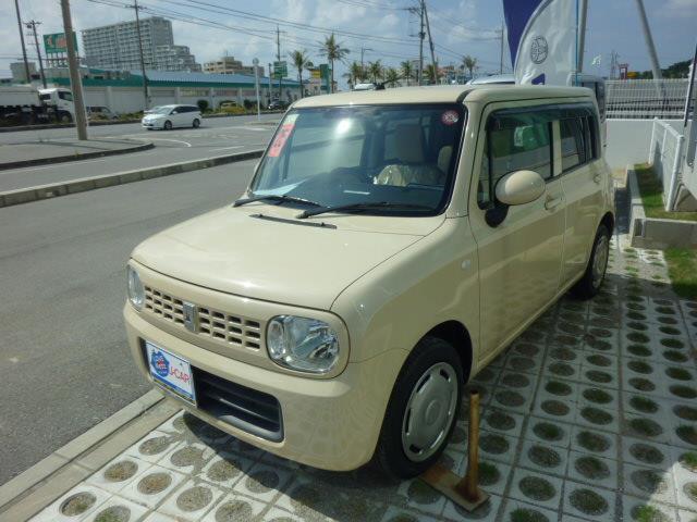 沖縄の中古車 スズキ アルトラパン 車両価格 59.4万円 リ済別 2013(平成25)年 3.5万km ベージュ