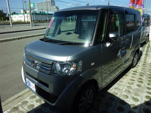 沖縄の中古車 ホンダ N-BOX 車両価格 110万円 リ済別 2016(平成28)年 2.6万km シルバー