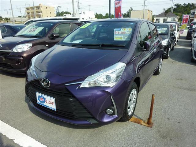 沖縄の中古車 トヨタ ヴィッツ 車両価格 132万円 リ済別 2019年 0.2万km パープル