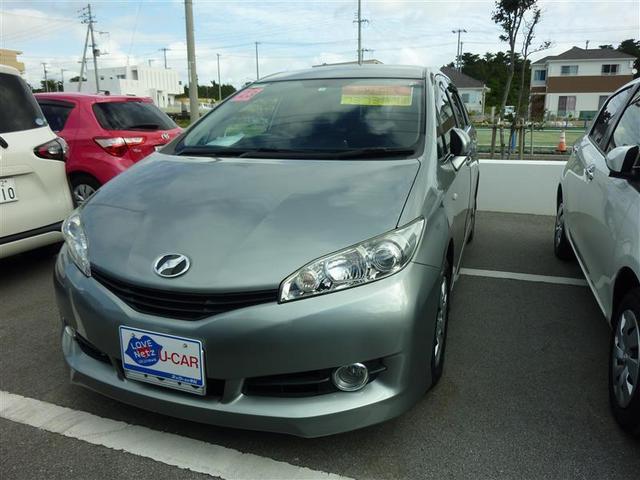 沖縄の中古車 トヨタ ウィッシュ 車両価格 69.3万円 リ済別 2011(平成23)年 6.9万km グレー