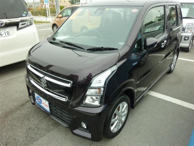沖縄の中古車 スズキ ワゴンRスティングレー 車両価格 115.5万円 リ済別 2019年 0.6万km ムラサキ