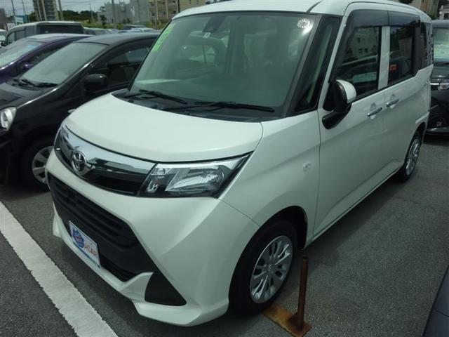 沖縄の中古車 トヨタ タンク 車両価格 137.5万円 リ済別 2017(平成29)年 2.9万km パールマイカ
