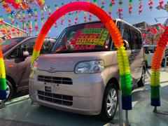 沖縄の中古車 ダイハツ タント 車両価格 45万円 リ済別 平成22年 9.9万K ピンク