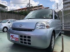 沖縄の中古車 ダイハツ エッセ 車両価格 35万円 リ済別 平成22年 4.3万K ブライトシルバーメタリック