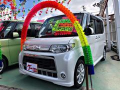 沖縄の中古車 ダイハツ タント 車両価格 79万円 リ済別 平成24年 6.8万K パールホワイトIII