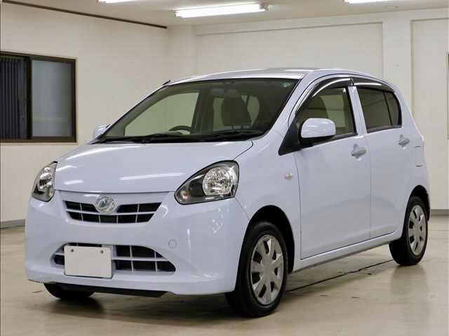 沖縄の中古車 ダイハツ ミライース 車両価格 39万円 リ済別 2011(平成23)年 8.3万km ブルー