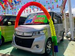 沖縄の中古車 スズキ パレットSW 車両価格 49万円 リ済別 平成21年 9.0万K シルキーシルバーメタリック