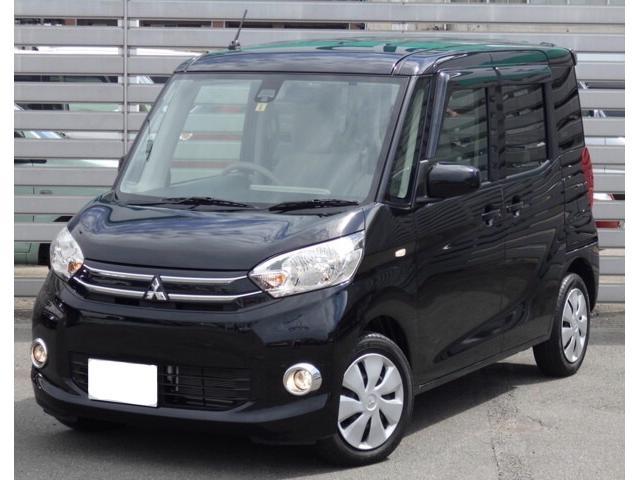 沖縄の中古車 三菱 eKスペース 車両価格 89万円 リ済別 平成26年 2.8万km ブラック