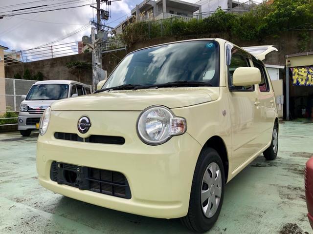 沖縄の中古車 ダイハツ ミラココア 車両価格 49万円 リ済別 平成22年 8.9万km ベージュ
