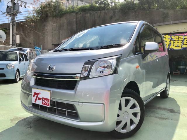 沖縄の中古車 ダイハツ ムーヴ 車両価格 59万円 リ済別 平成25年 7.9万km シルバー