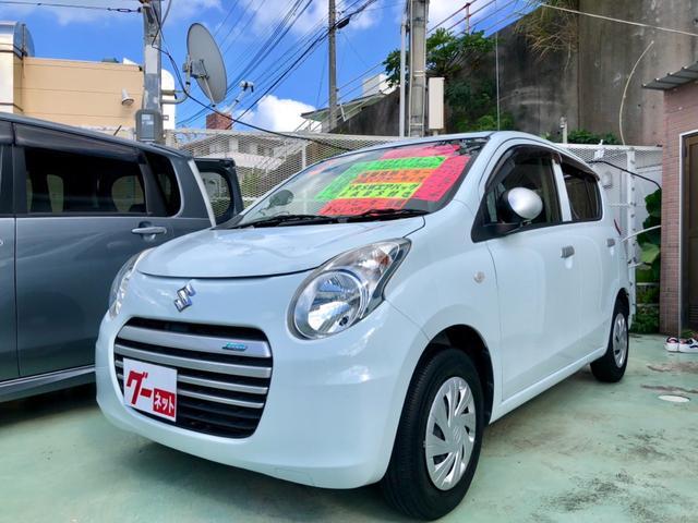 沖縄の中古車 スズキ アルトエコ 車両価格 39万円 リ済別 2014(平成26)年 8.9万km ホワイト
