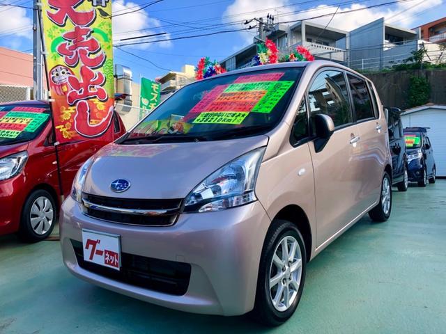 沖縄の中古車 スバル ステラ 車両価格 58万円 リ済別 2011(平成23)後 3.8万km ピンク