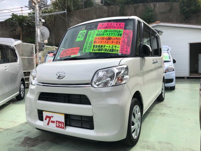 沖縄の中古車 ダイハツ タント 車両価格 98万円 リ済別 平成27年 1.5万km ブラウン