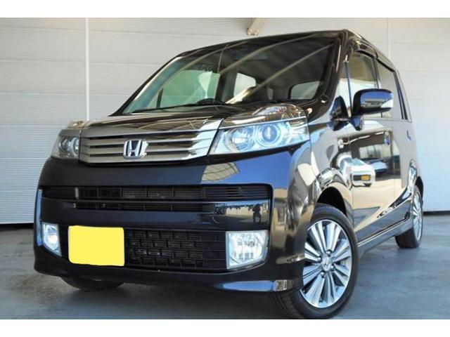 沖縄の中古車 ホンダ ライフ 車両価格 49万円 リ済別 2011(平成23)年 8.4万km ブラック