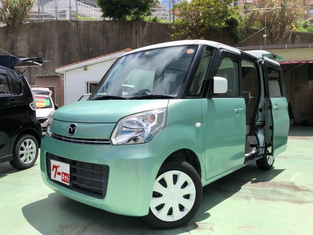 沖縄の中古車 マツダ フレアワゴン 車両価格 79万円 リ済別 2015(平成27)年 5.8万km Lグリーン