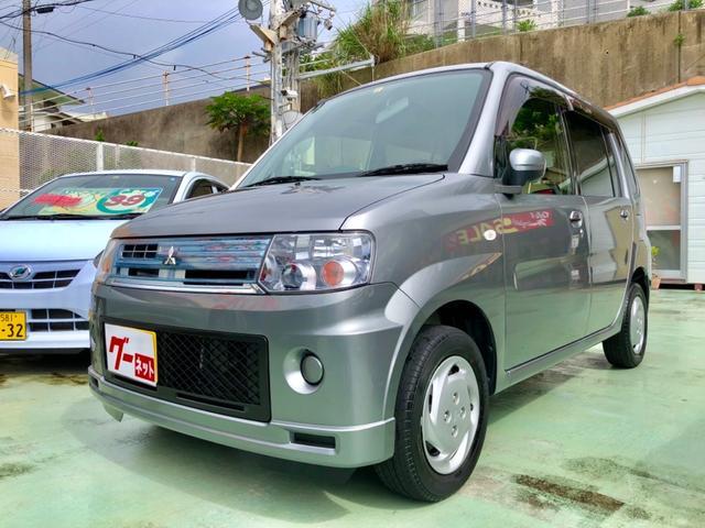 三菱 G 本土仕入れ車 HIDヘッドライト 本革巻きステアリング