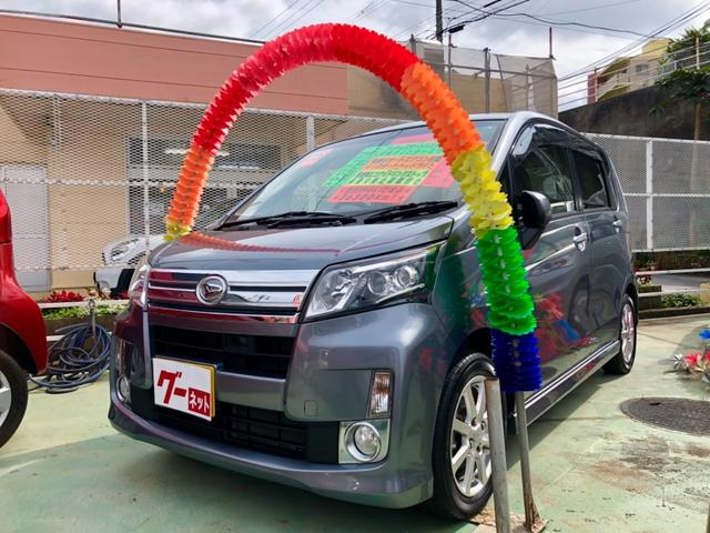 沖縄の中古車 ダイハツ ムーヴ 車両価格 69万円 リ済別 2013(平成25)年 3.6万km ガンM