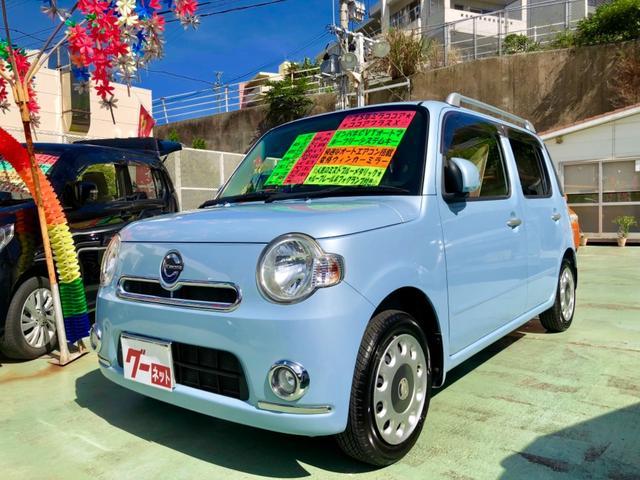 沖縄県中頭郡西原町の中古車ならミラココア ココアプラスX 新品タイヤ付き ルーフレール フォグ付き