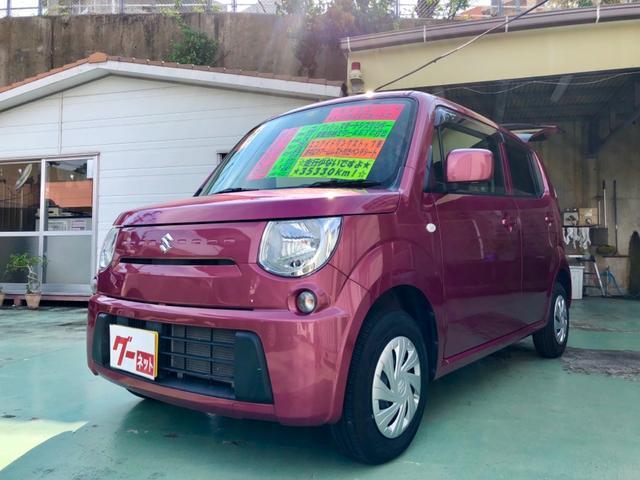 沖縄の中古車 スズキ MRワゴン 車両価格 68万円 リ済別 2014(平成26)年 3.6万km ピンクM