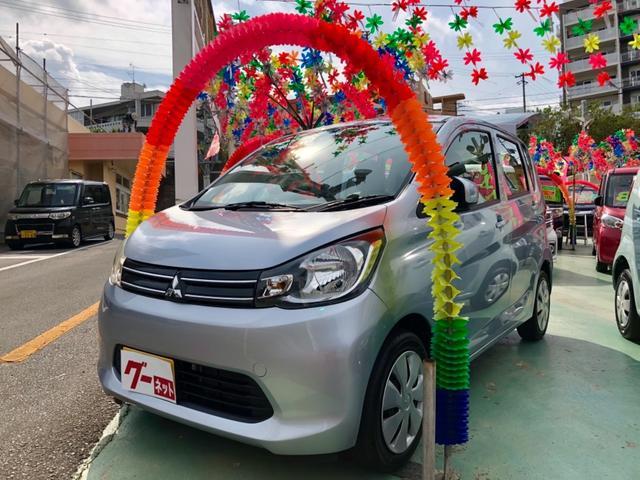 沖縄県中頭郡西原町の中古車ならeKワゴン E ドライブレコーダー付き キーレス 電格ミラー