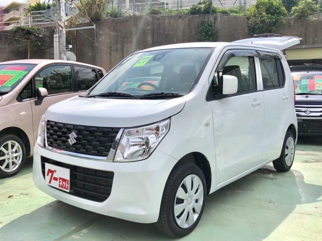 沖縄県中頭郡西原町の中古車ならワゴンR FXエネチャージ ETC付き Bluetooth接続可能