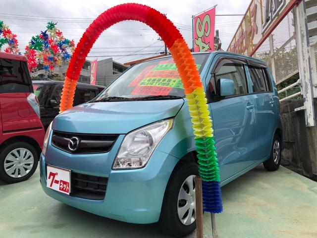 沖縄県の中古車ならAZワゴン XGナビTV&ETC付き スマホ接続可能 2年保証