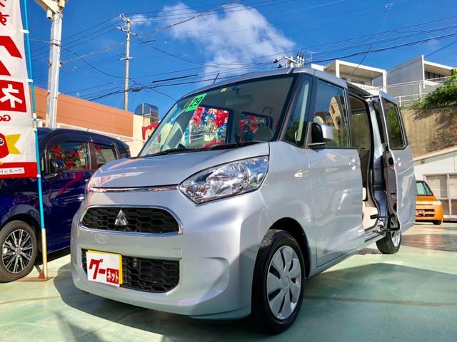 沖縄県の中古車ならeKスペース Mエコアイドル スマホ接続ナビ付 バックカメラ ETC付き