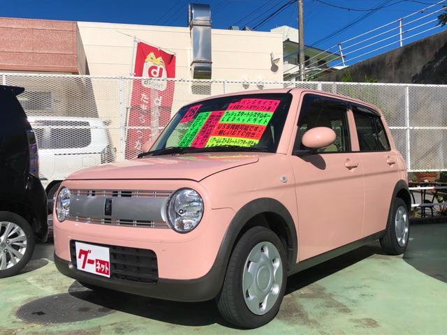 沖縄の中古車 スズキ アルトラパン 車両価格 79万円 リ済別 2016(平成28)年 5.4万km ピンク