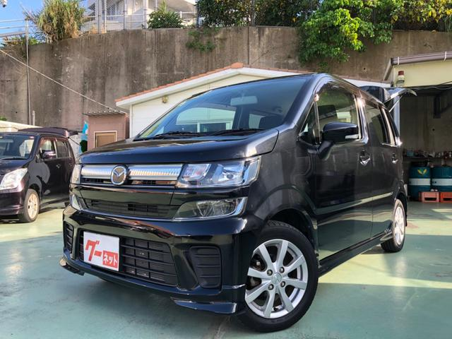 沖縄の中古車 マツダ フレア 車両価格 89万円 リ済別 2017(平成29)年 3.8万km ブラックM