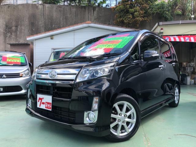 沖縄の中古車 ダイハツ ムーヴ 車両価格 58万円 リ済別 2013(平成25)年 8.1万km ブラック