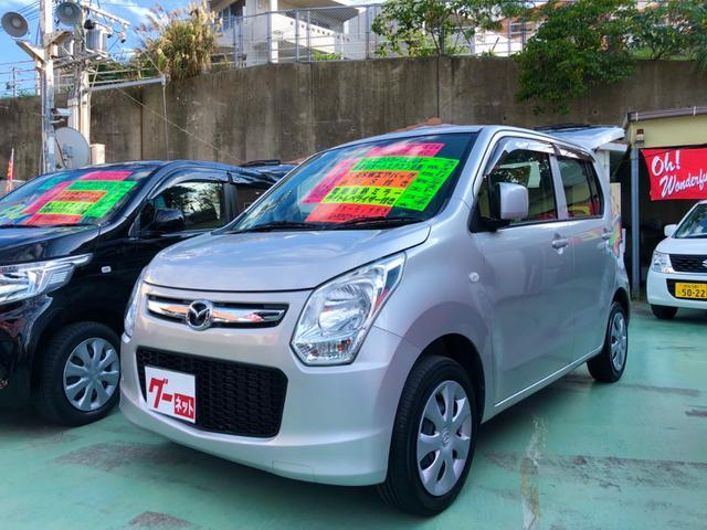 沖縄の中古車 マツダ フレア 車両価格 39万円 リ済別 2013(平成25)年 8.5万km シルバー