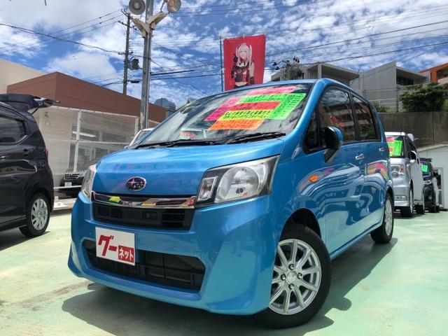 沖縄の中古車 スバル ステラ 車両価格 48万円 リ済別 2014(平成26)年 8.7万km ブルー