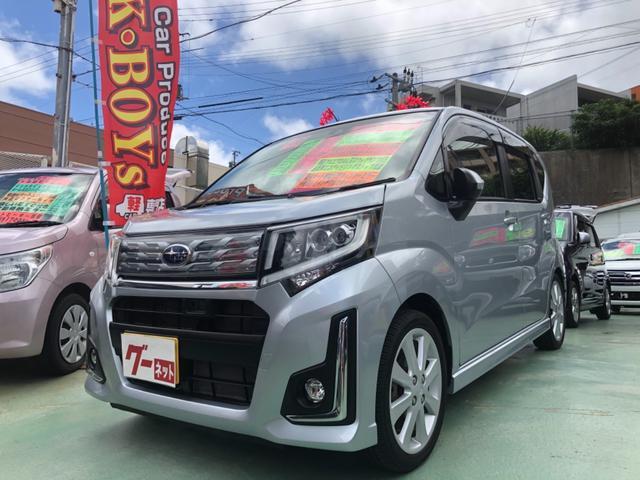 沖縄の中古車 スバル ステラ 車両価格 78万円 リ済別・追 2016(平成28)後 8.1万km シルバー