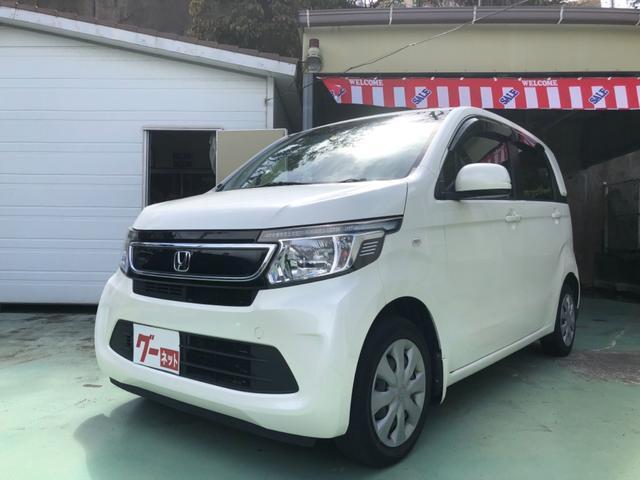 沖縄の中古車 ホンダ N-WGN 車両価格 58万円 リ済別 2014(平成26)年 8.7万km パール