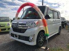 沖縄の中古車 ダイハツ タント 車両価格 113万円 リ済込 平成26年 1.9万K パールホワイト