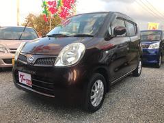 沖縄の中古車 日産 モコ 車両価格 28万円 リ済込 平成19年 8.1万K ブラウン
