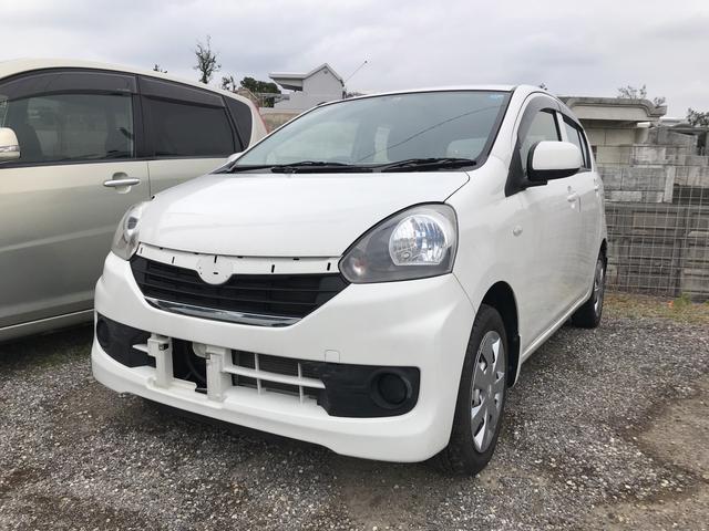 沖縄の中古車 スバル プレオプラス 車両価格 49万円 リ済込 平成26年 2.5万km ホワイト