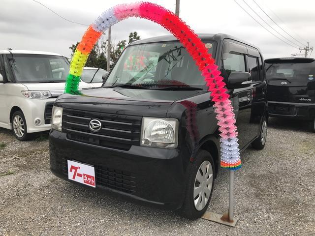 沖縄の中古車 ダイハツ ムーヴコンテ 車両価格 39万円 リ済込 平成22年 8.3万km ブラック