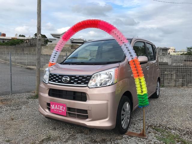 沖縄の中古車 ダイハツ ムーヴ 車両価格 79万円 リ済込 2017(平成29)後 0.2万km ピンク