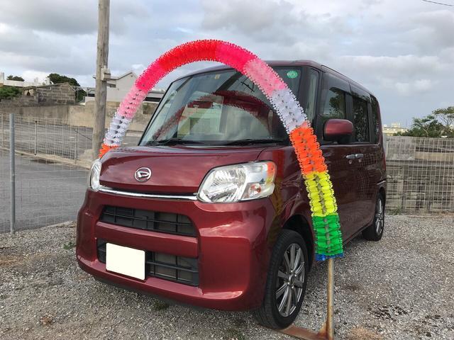 沖縄の中古車 ダイハツ タント 車両価格 79万円 リ済込 2015(平成27)年 5.3万km レッド